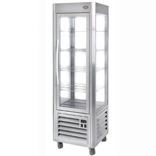 Roller Grill RD60F Stainless Fixed Shelf Refrigerated Display Refrigerated Displays